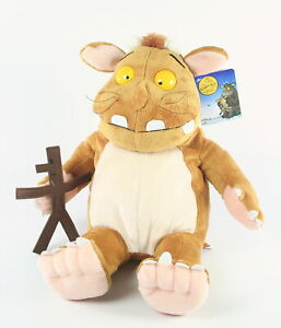"GRUFFALO'S CHILD 16"" with STICKMAN plush soft toy Aurora Julia Donaldson - NEW!"