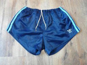Glanz Años Adidas Cortos Vintage Brillante 80 Nylon Pantalones Uqn486x