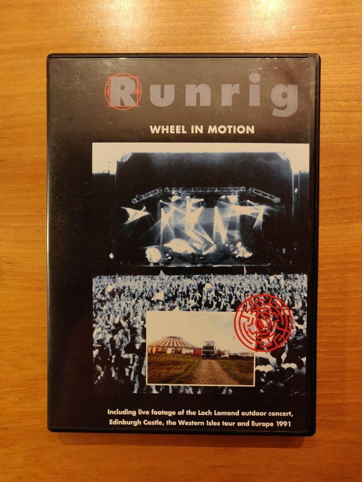 Wheel In Motion, instruktør Runrig, DVD