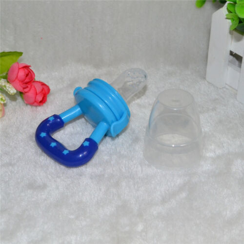 Feeding Pacifier Fresh Food Fruits Soup Dummy Soother Weaning Nipple For Baby ED