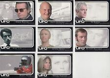 UFO TV Series Ultra Rare Complete Unsigned 8 Card Auto Card Set