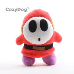 Super-Mario-Bros-Shy-Guy-Plush-Figure-Toy-Stuffed-Animal-Doll-15cm-Kids-Gift