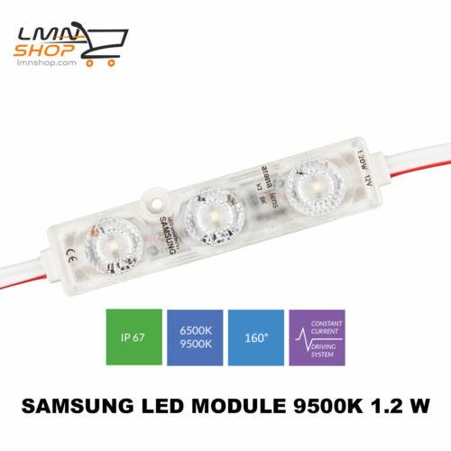 Samsung LED Module ARENA LENS V3Kalt 9500K Neutral 6500K1,2W 12V IP68 160°
