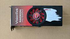 VisionTek Radeon HD 6950 DirectX 11 2GB 256-Bit GDDR5 PCI Express 2.1 x16 (USED)