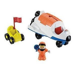 Fisher Price Little People Rumble n Blast Space Ship Set ...