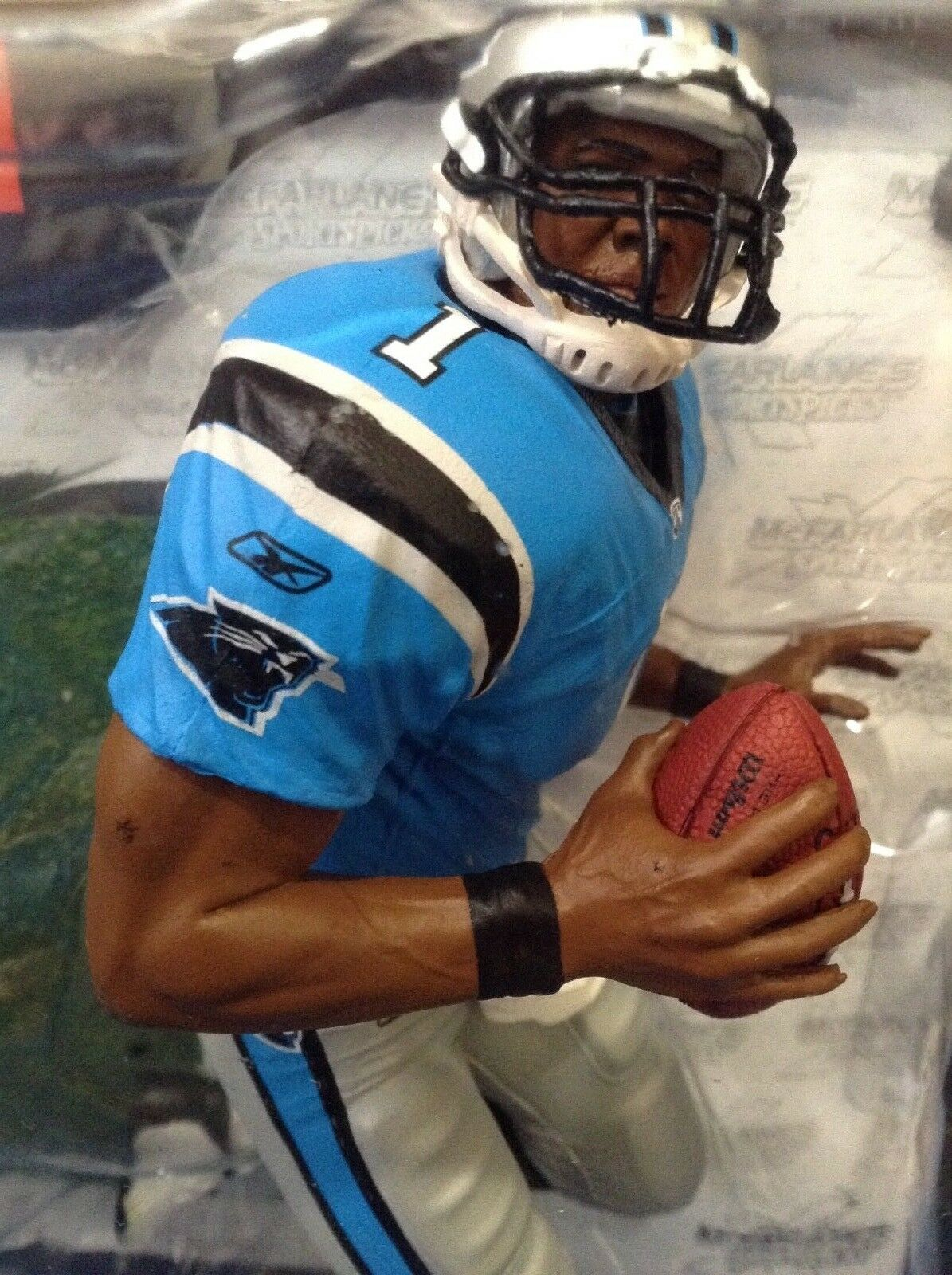 NFL CAROLINA PANTHERS CAM NEWTON  /  McFARLANES SERIES 28  /  VERY LOW No.
