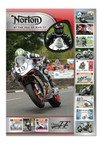 Norton TT Winner's Celebration Sheet (TT85)