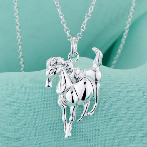 Beautiful HORSE BODY Pendant CHAIN Necklace Kids Girls Jewellery Party Gifts UK