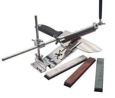 Pro Messerschleifer Messerschärfer Eisen Material mit + 4 Schleifsteins