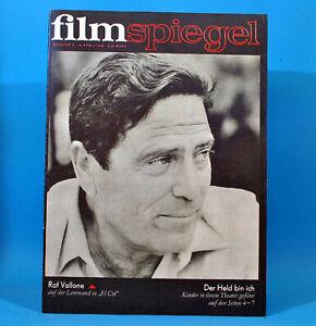 GDR-Filmspiegel-8-1969-Raf-Vallone-Claudia-Cardinale-Peter-Lorre-Mueller-Stahl