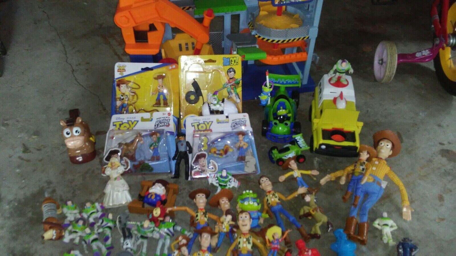 Storia di giocattoli immaginari 3 tricmounty disautoica Pizza Planet camion paraurti auto rc