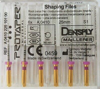 Dental Dentsply Rotary ProTaper Universal Engine NiTi Files 21 mm S1