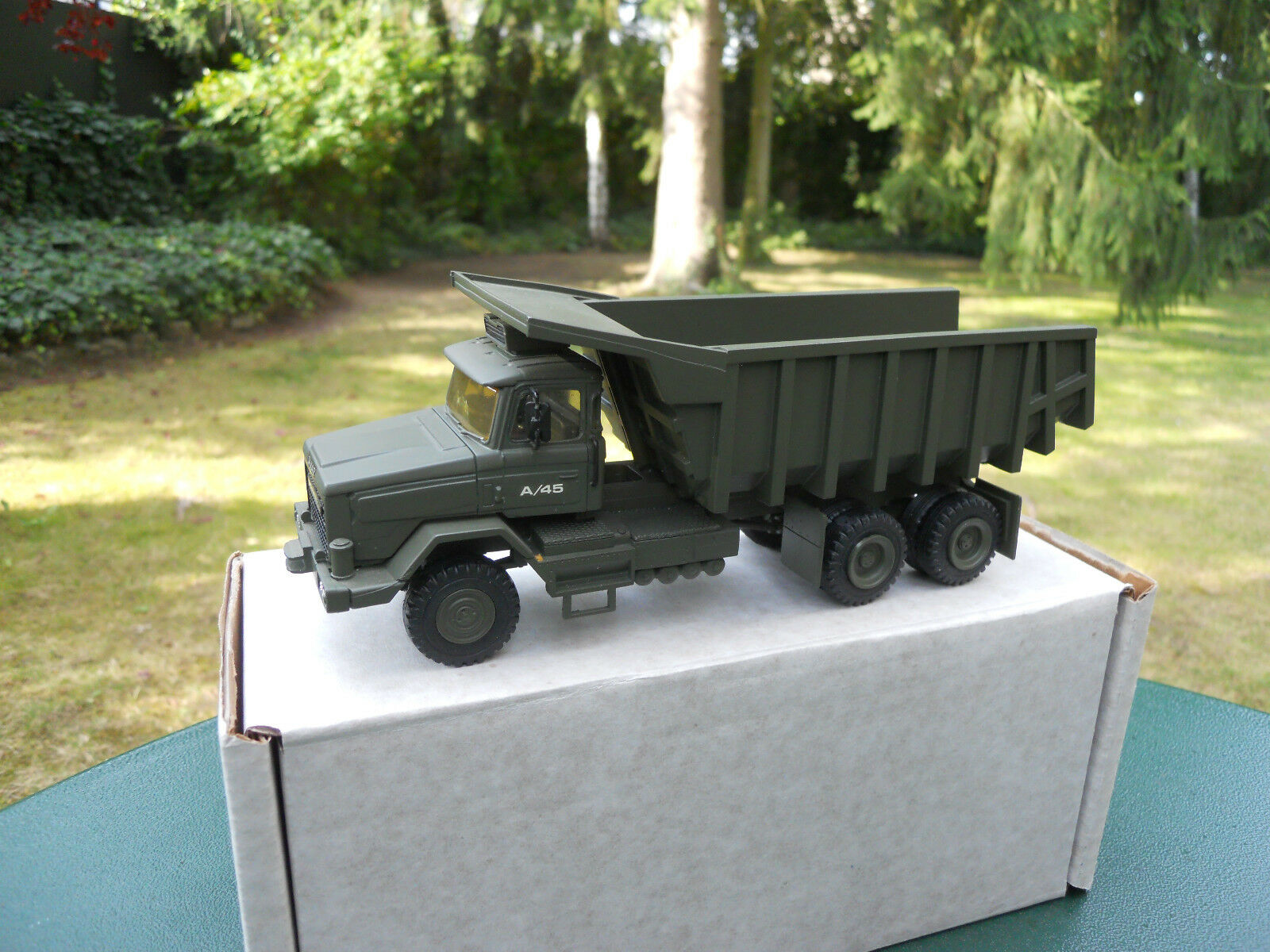VEHICULE MILITAIRE ASAM REF ROC 99  SCAMMEL S 24 6X6  TOMBEREAU BRITISH ARMY