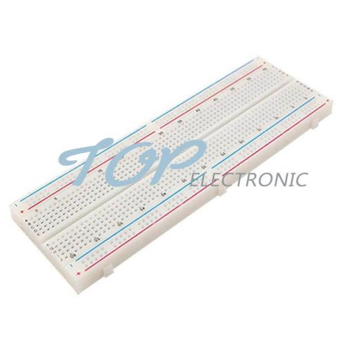 1//2//5//10 MB102 Point Solderless PCB Bread Board Test Develop Breadboard 830 DIY