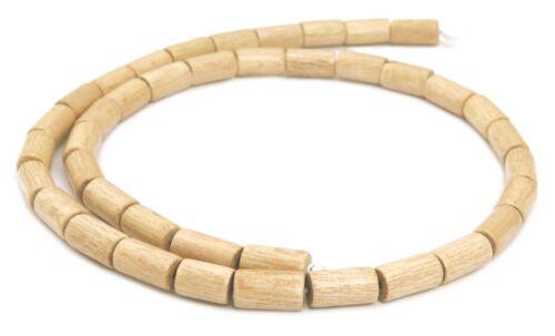 Indisches Rosa Palisanderholz Perlen Strang Walzen 10x6mm Holzperlen H.RO-9
