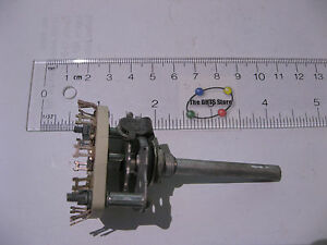 Centralab-CRL2503-Rotary-Switch-1-Pole-10-Position-Ceramic-Non-Short-NOS-Qty-1