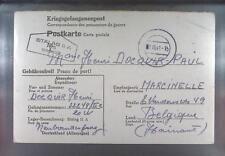 Camp Stalag IIA Neubrandenburg 1941 POW Belgium Kriegsgefangenenpost K95