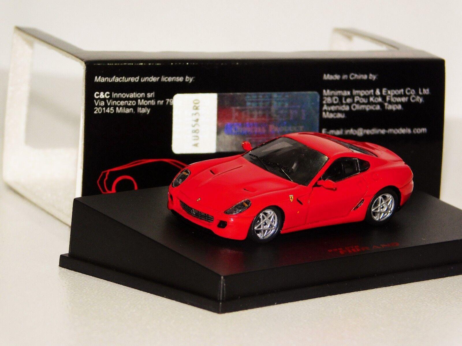FERRARI 599 GTB FIORANO RED SPARK REDLINE  87RL019 1 87