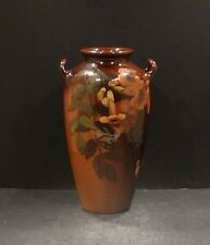 "Rookwood Standard Glaze Vase With Trumpet  Creepers 8 1/8"", Jeanette Swing- MINT"