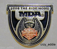 Harley Davidson 105th Anniversary The Ride Home Pin
