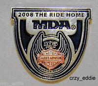 Harley Davidson 105th Anniversary The Ride Home Pin