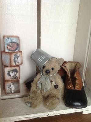 Industrioso Mohair/orso Kit, 5,5 - 6 Pollici Incl. Secchio Di Metallo-mostra Il Titolo Originale Aspetto Estetico