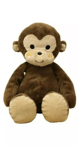 Lambs /& Ivy Bedtime Originals Curly Tails Plush Monkey