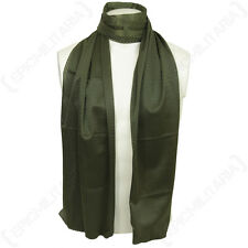 Olive Green Mesh Net Scarf - Scrim Neckerchief Cadets Army Military Soldier New