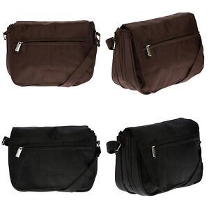 Kleine-Dament-Tasche-Schultertasche-Umhaengetasche-Nylon-Bag-Crossover-Uberschlag