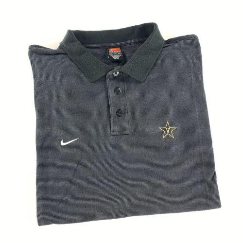 Nike Team Vanderbilt University Commodores Polo Sh