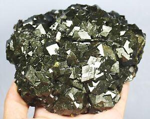 1280g Natural Beauty Rare Andradite Garnet Crystal Mineral Specimens/China