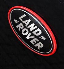 BLACK & SILVER Land Rover marchio ovale per & Rosso Telaio/Basamento Per Range Rover l322