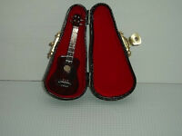 Acoustic Guitar, Dolls House Musical Instruments Minatures, Music Room