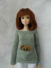 sweater pocket available for  Blythe,Pullip, Momoko, bjd, fashion royalty,barbie