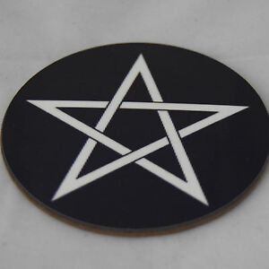 2-Pagen-Star-Round-Coaster-ideal-gift-FREE-PERSONALISATION