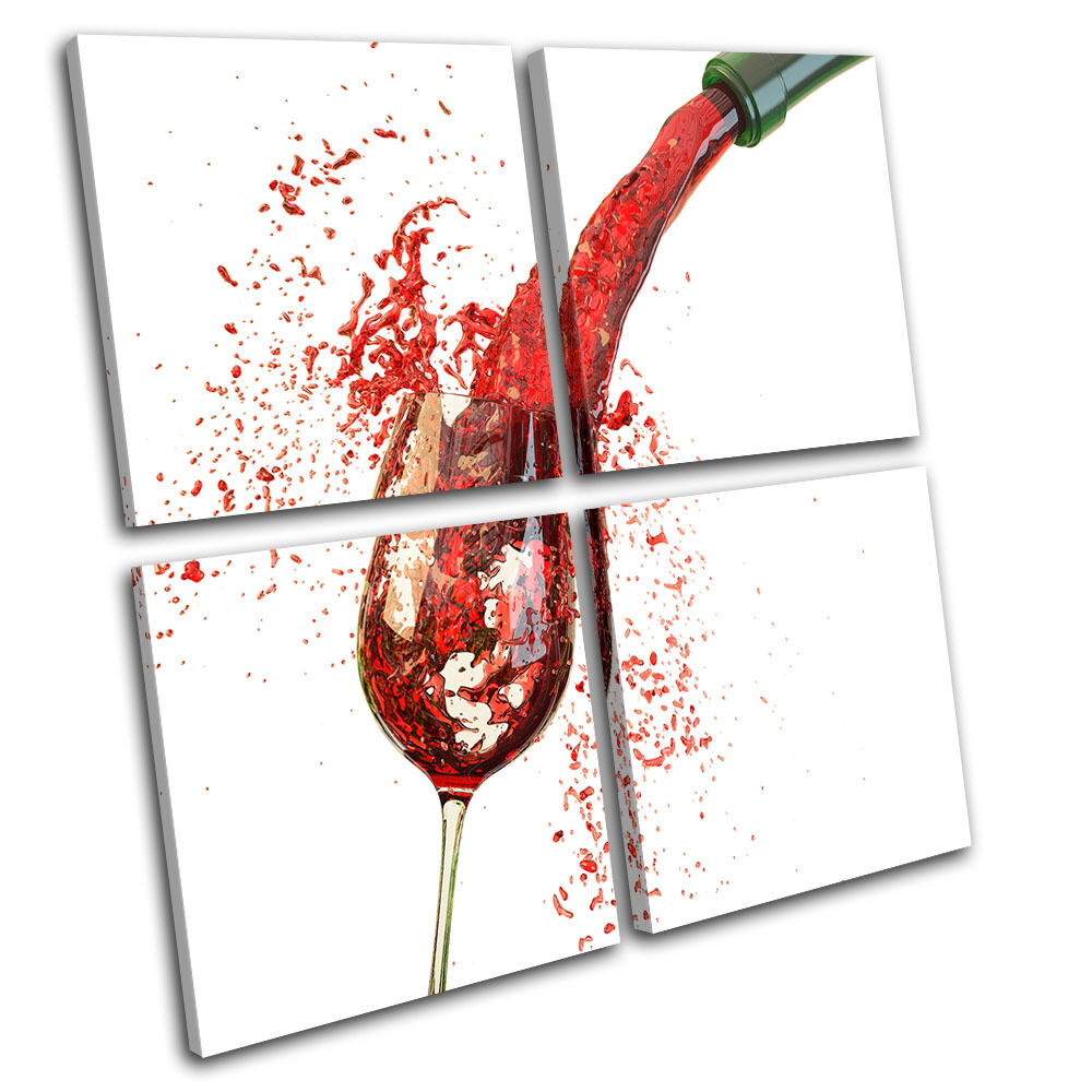 Wine LONA Glass Pouring Food Kitchen MULTI LONA Wine pa rojo  arte Foto impresion 76aa43