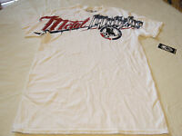 Metal Mulisha Mens L Lg Hardcore Bealls-smu White T Shirt Moto Mm Tee Nwt^
