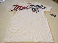 Metal Mulisha Mens L Lg Hardcore Bealls-smu White T Shirt Moto Mm Tee Nwt^