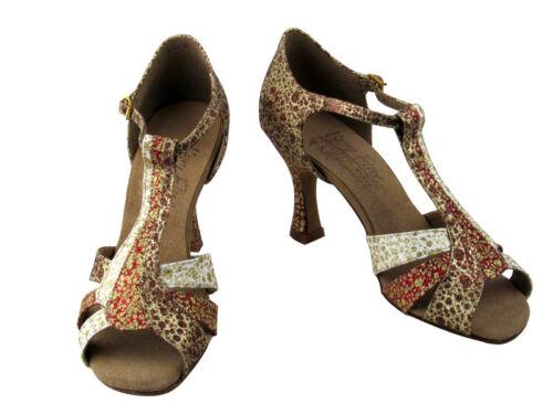 Latin Salsa Tango Very Fine Ballroom Competitive Dance Shoes S2806 Satin Leather