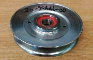 Countax Westwood 120mm Steel Idler V Pulley fits IBS Decks 209044600 GENUINE NEW