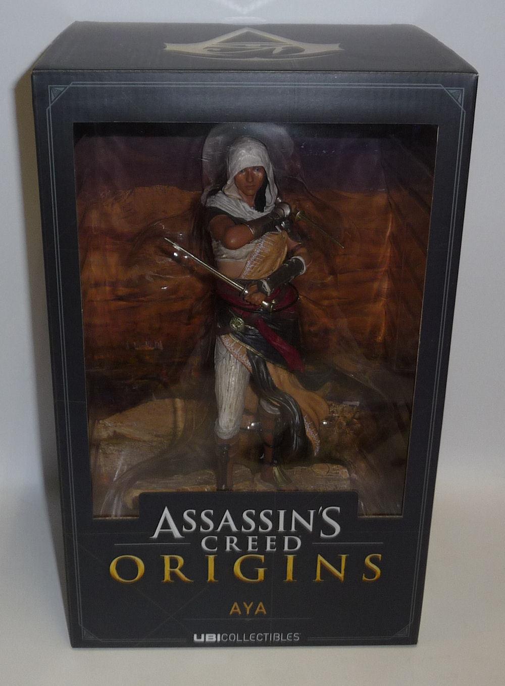 Assassin 's creed ursprünge aya ware actionfigur neue versiegelt original ubisoft