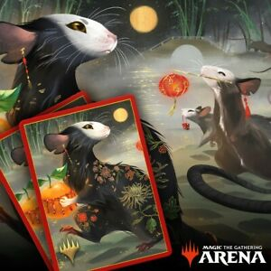 MTG Arena Secret Lair Year of the Rat Sleeves CODE ONLY MTGA