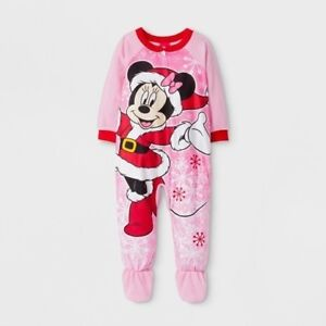 d31e6554c1 Disney BABY Girls 18 moths Fleece Minnie Mouse Blanket Sleeper ...