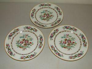 Image is loading Antique-Oriental-Design-Porcelain-Dinner-Plates -Cleveland-China- & Antique Oriental Design Porcelain Dinner Plates - Cleveland China ...