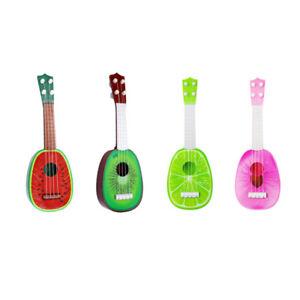 1X(BéBé Enfants ÉDucatifs Instrument de Musique Jouet Guitare en Gros Fruit L5H7