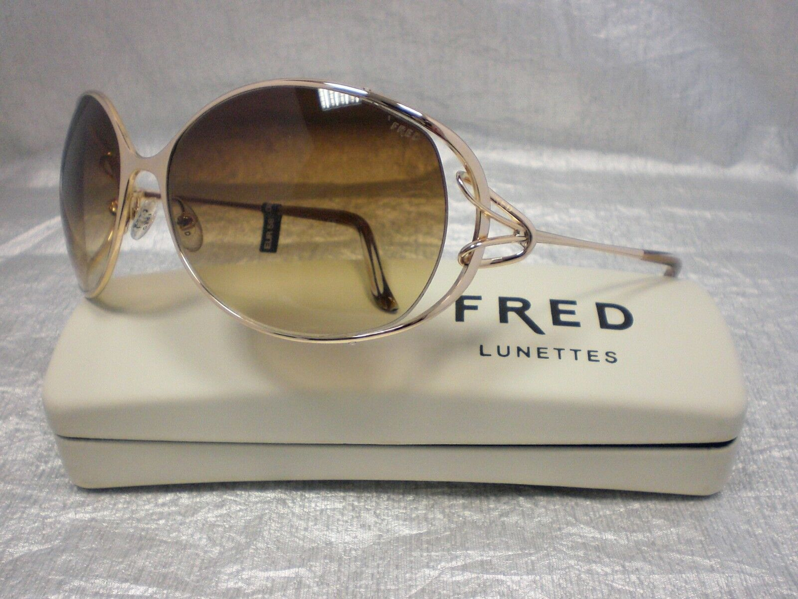 Original Frot Frot Frot Sonnenbrille Volute N1 Farbe 206 Gold 3fe486