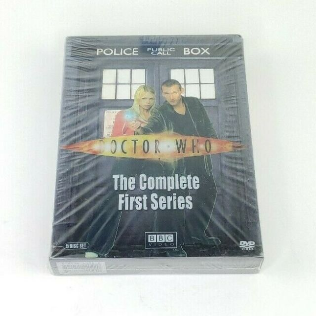 Doctor Who - The Complete First Series Season 1 (5-Disc, DVD Set) Free Shipping