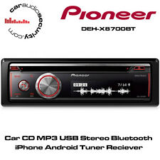 Pioneer DEH-X8700BT - CD MP3 USB Stereo Bluetooth iPhone Android Tuner Mixtrax