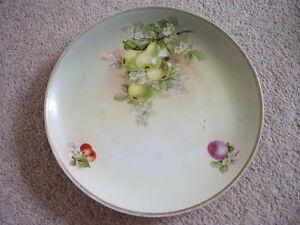 Antique Kpm Dresde German Porcelain Plate-vaisselle-afficher Le Titre D'origine Mu3rugo4-07220525-244965749