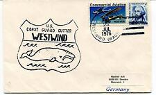 1976 U.S. Coast Guard Cutter Westwind dest. Dresden Polar Antarctic Cover